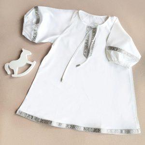 """Крестильная рубашка """"Ангел мой"""""""
