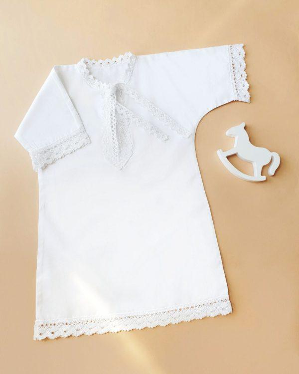 """Крестильная рубашка для мальчика """"Русские традиции"""""""