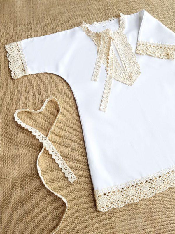 """Крестильная рубашечка для мальчика """"Былина"""""""