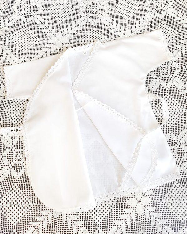 Крестильная рубашечка - распашонка