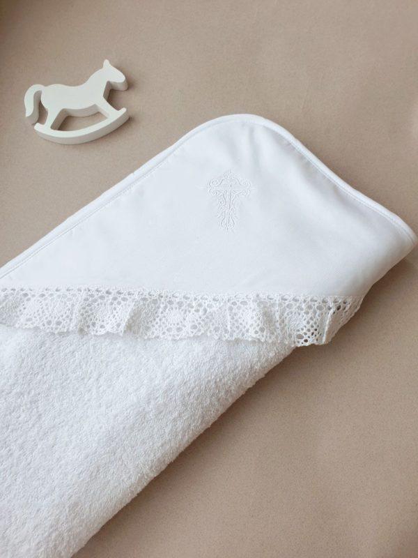"""Крестильное полотенце с вышивкой """"Символ веры"""""""