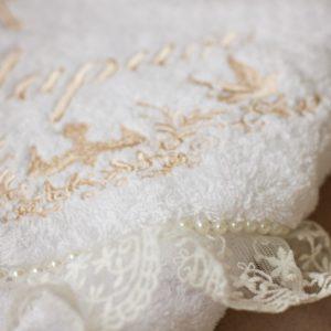"""Именное крестильное полотенце """"Мария"""""""