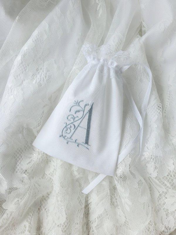Мешочек с именной вышивкой