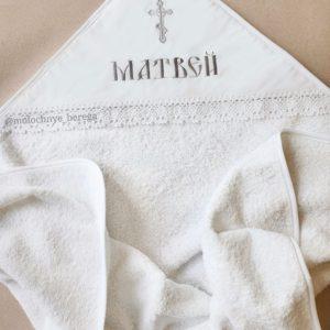 """Крестильное полотенце """"Матвей"""""""