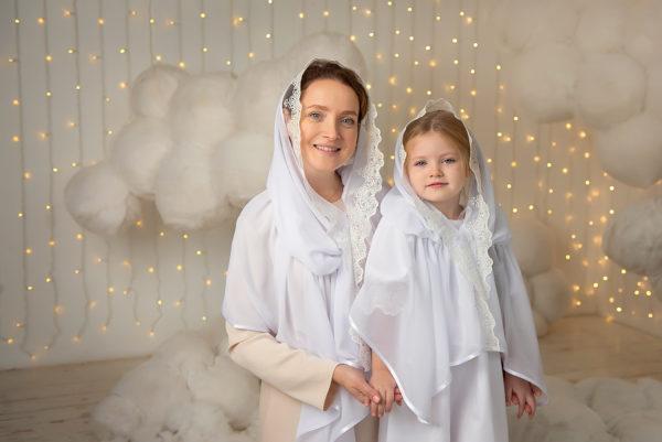 """Комплект платков для мамы и дочки """"Наследие"""""""