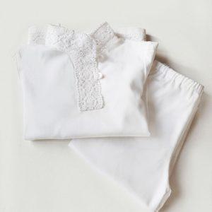 Крестильный комплект со штанишками для мальчика