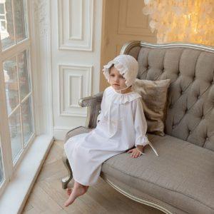 Крестильный наряд с вышивкой