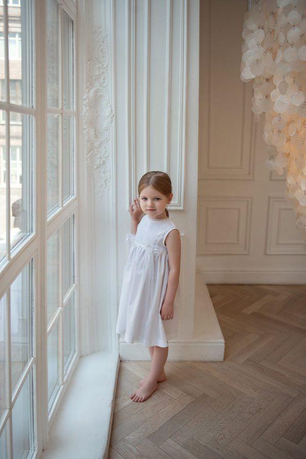 """Платье для девочки """"Голубка"""""""